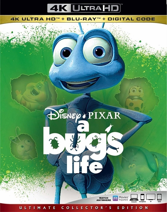 A Bug's Life (4K Ultra HD Blu-ray)(Pre-order / Mar 3)