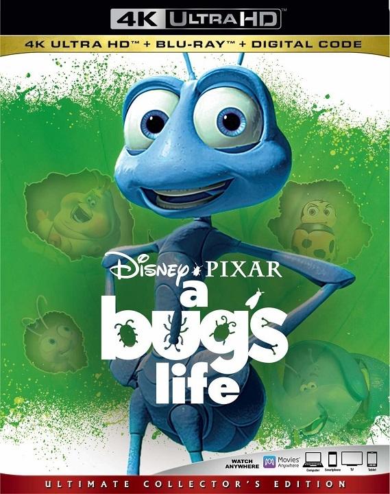 A Bug's Life (4K Ultra HD Blu-ray)(Pre-order / TBA)