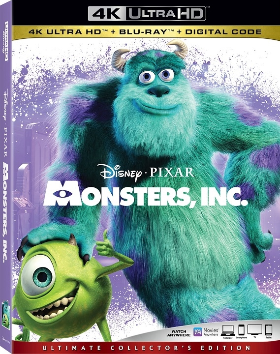 Monsters, Inc. (4K Ultra HD Blu-ray)(Pre-order / Mar 3)