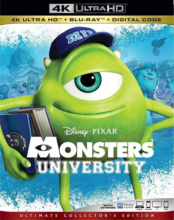 Monsters University (4K Ultra HD Blu-ray)(Pre-order / Mar 3)