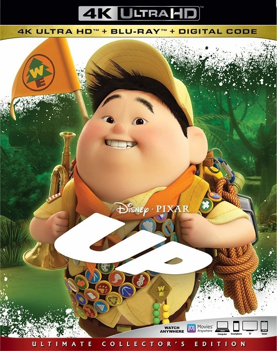 Up (4K Ultra HD Blu-ray)