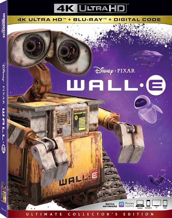 WALL-E (4K Ultra HD Blu-ray)(Pre-order / Mar 3)