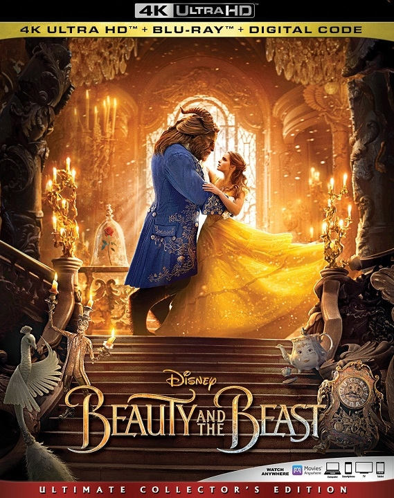 Beauty and the Beast (Live Action)(4K Ultra HD Blu-ray)(Pre-order / TBA)