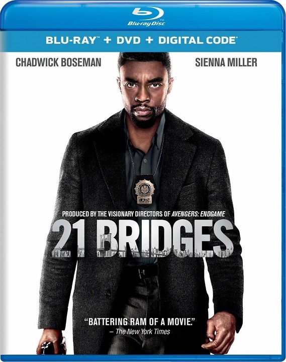 21 Bridges (2019) Blu-ray