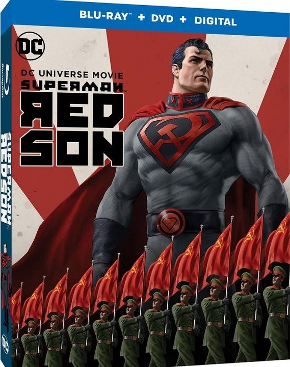 Superman: Red Son (Blu-ray)(Region Free)