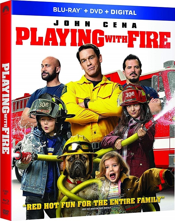 Playing with Fire (2019) Blu-ray