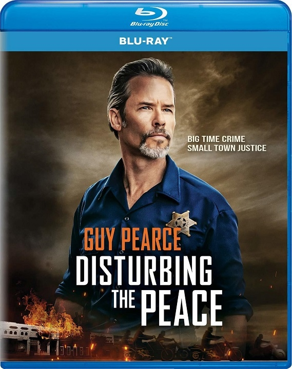 Disturbing the Peace (2020) Blu-ray