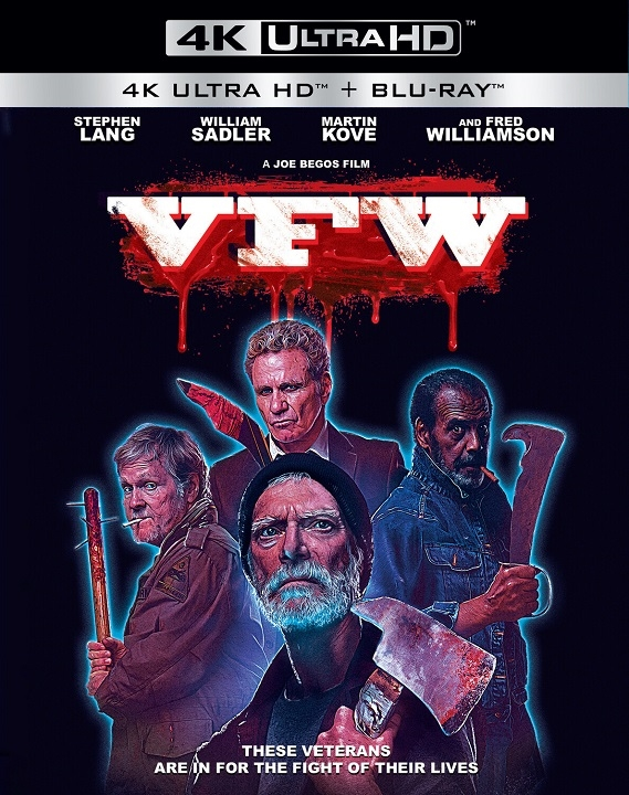 VFW 4K UHD Blu ray (2019)