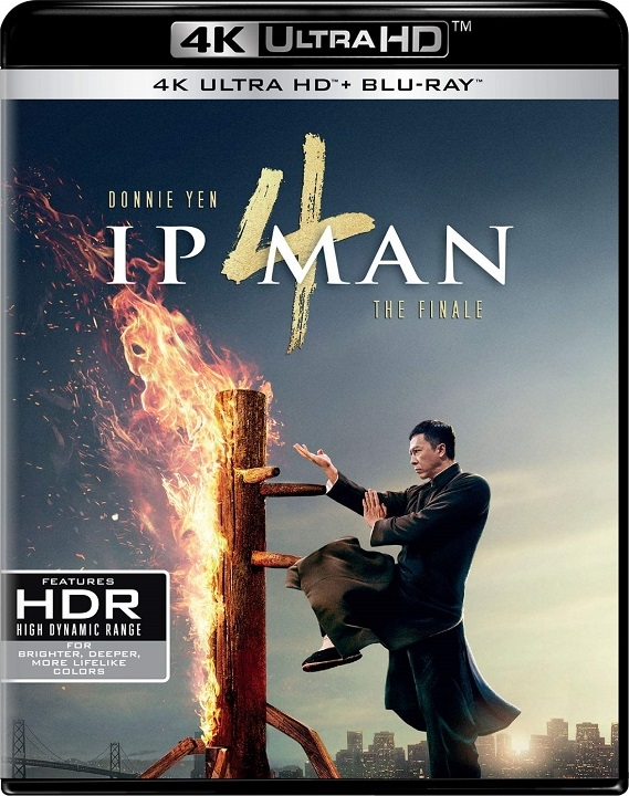 Ip Man 4: The Finale in 4K Ultra HD Blu-ray