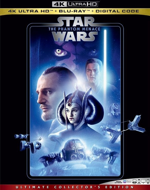 Star Wars The Phantom Menace 4K Ultra HD (1999)