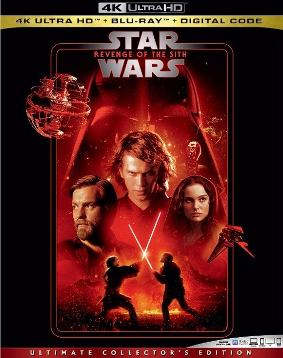 Star Wars Revenge of the Sith 4K Ultra HD (2005)
