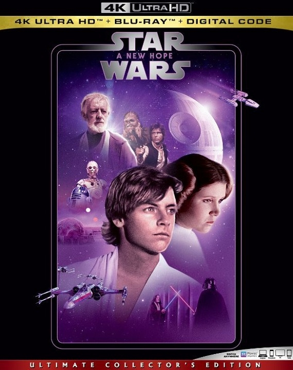 Star Wars A New Hope 4K Ultra HD (1977)