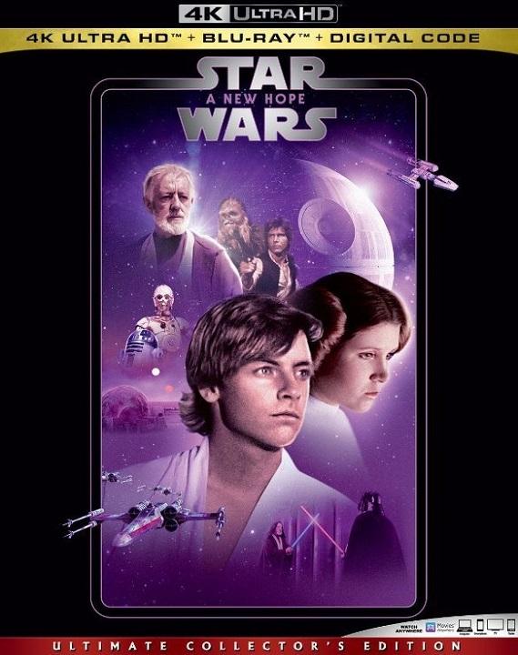 Star Wars A New Hope 4K Ultra HD (1977)