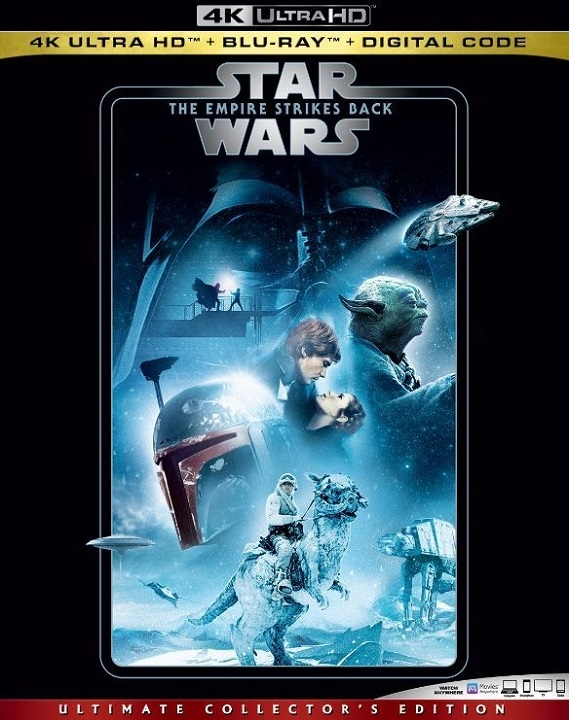 Star Wars Empire Strikes Back 4K Ultra HD (1980)