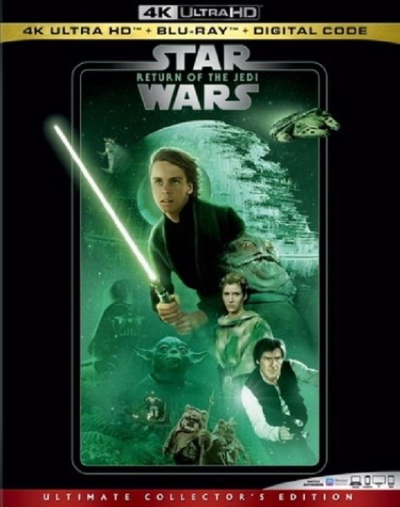 Star Wars Return of the Jedi 4K Ultra HD (1983)