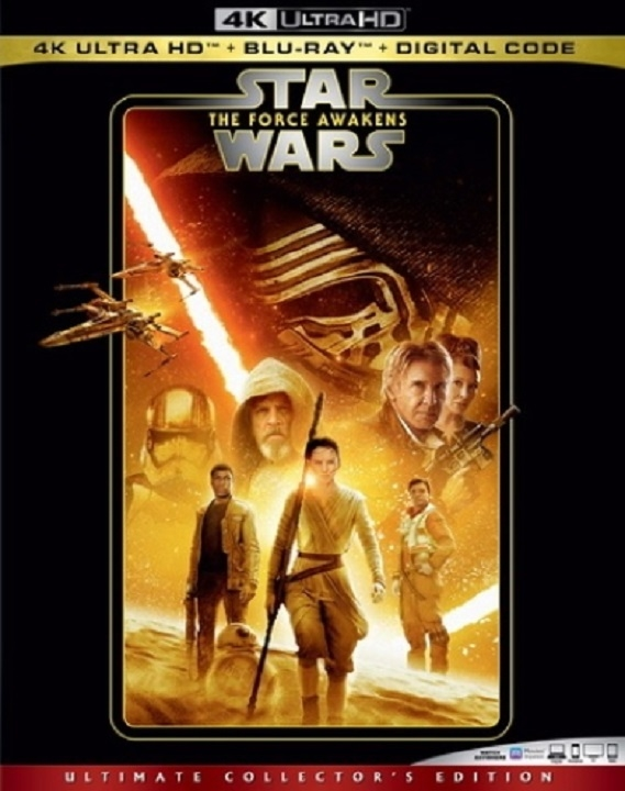 Star Wars The Force Awakens 4K Ultra HD (2015)