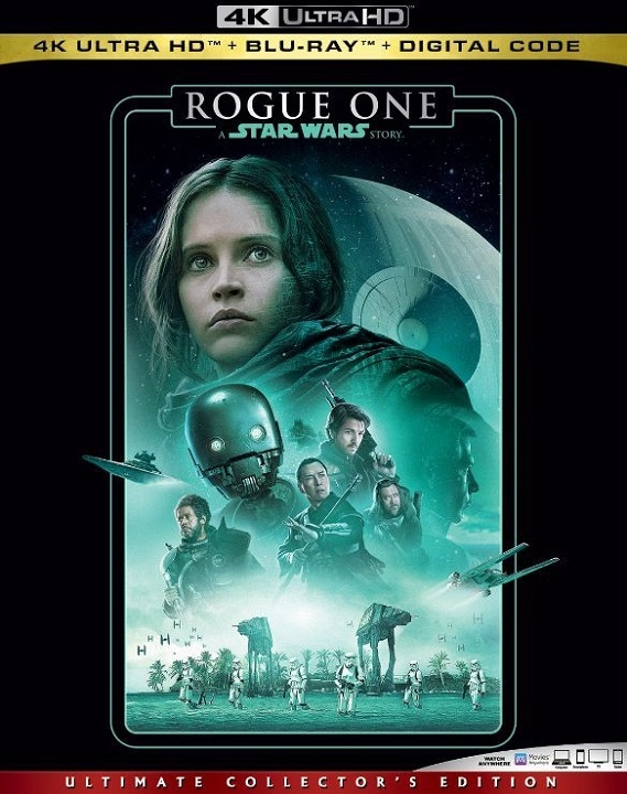 Rogue One A Star Wars Story 4K Ultra HD (2016)