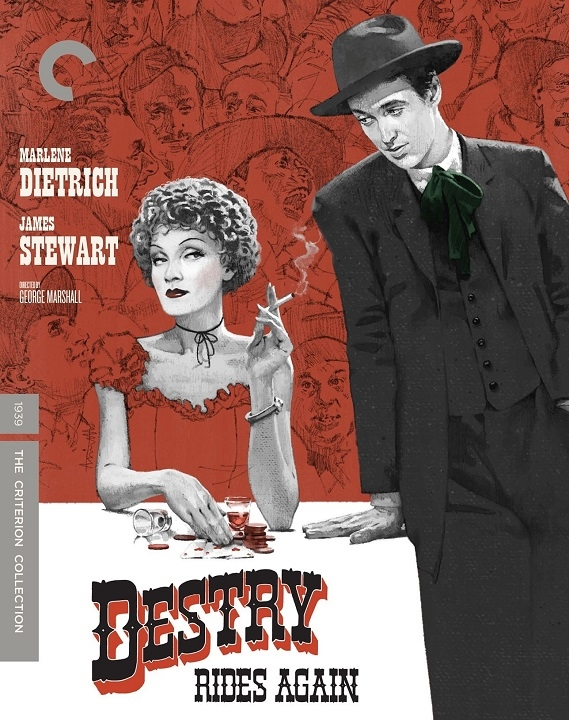 Destry Rides Again (The Criterion Collection)(Blu-ray)(Region A)