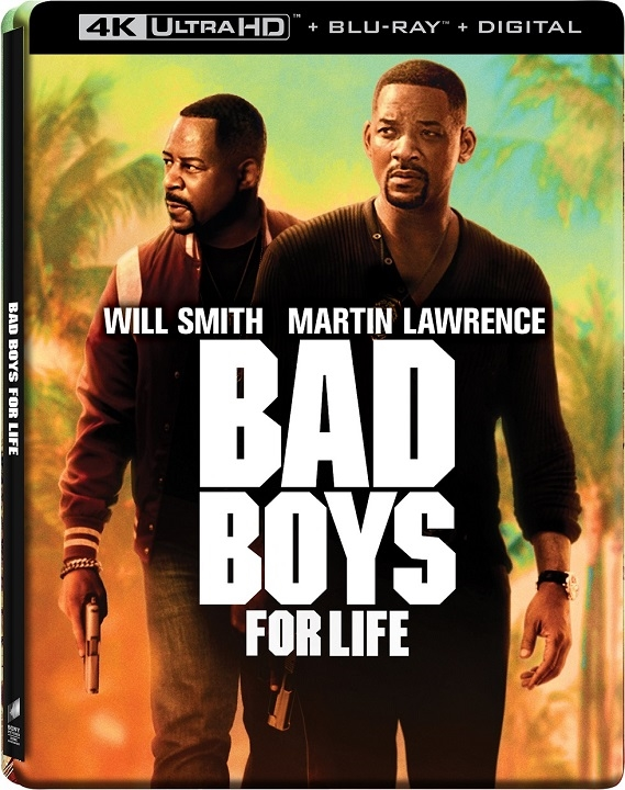 Bad Boys for Life SteelBook 4K Ultra HD