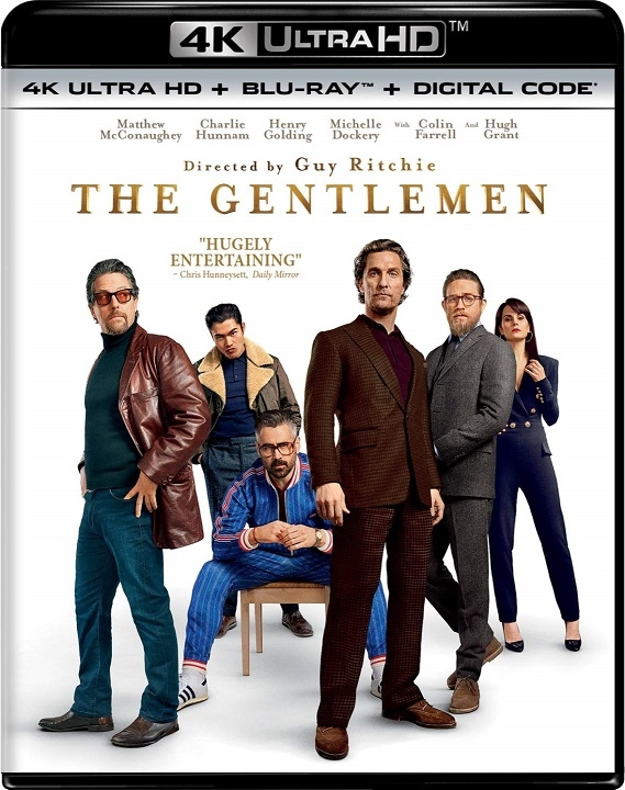 The Gentlemen 4K Ultra HD Blu-ray