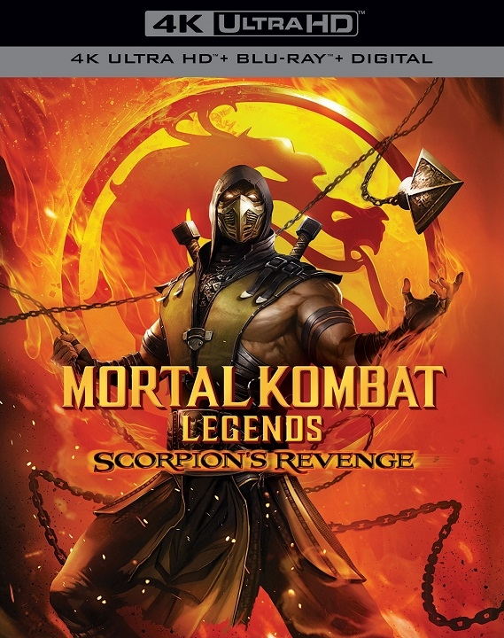 Mortal Kombat Legends: Scorpion's Revenge (4K Ultra HD Blu-ray)(Pre-order / Apr 28)