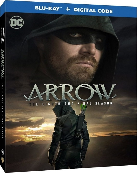 Arrow: The Eighth and Final Season (Blu-ray)(Region Free)