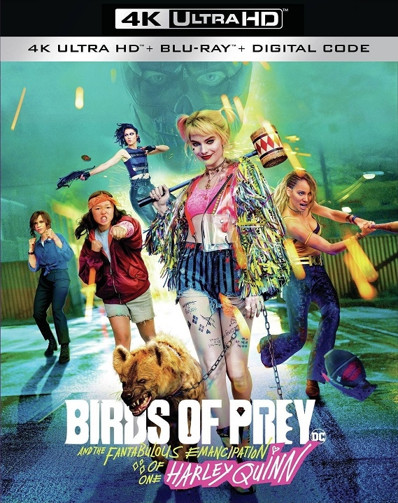 Birds of Prey 4K Ultra HD Blu-ray