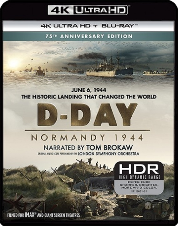 D-Day: Normandy 1944 4K Ultra HD Blu ray