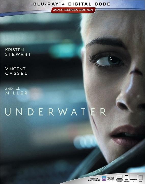 Underwater (2020) Blu-ray