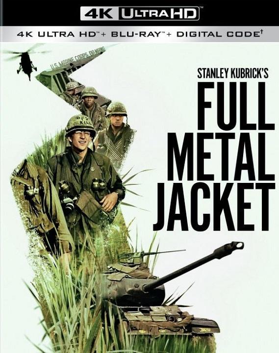 Full Metal Jacket (4K Ultra HD Blu-ray)(Pre-order / Sep 22)