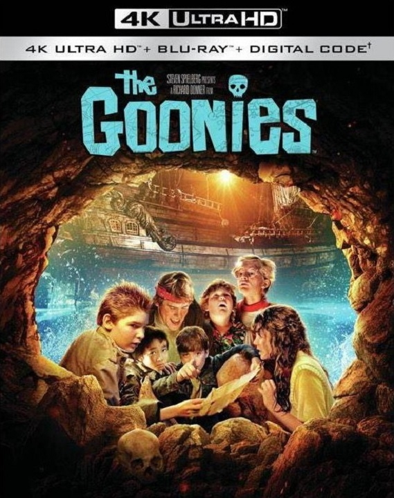 The Goonies (4K Ultra HD Blu-ray)(Pre-order / TBA)