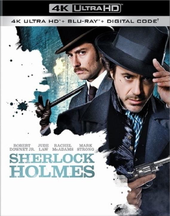 Sherlock Holmes (2009)(4K Ultra HD Blu-ray)(Pre-order / TBA)