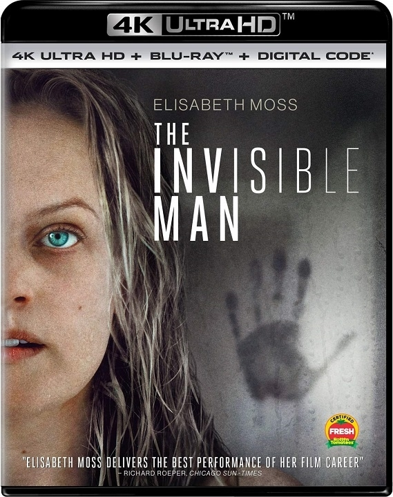 The Invisible Man in 4K Ultra HD Blu-ray at HD MOVIE SOURCE