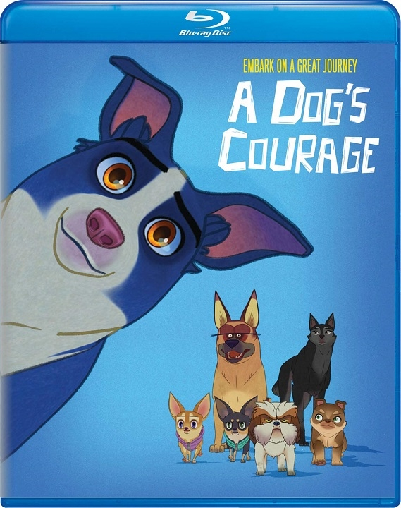 A Dog's Courage (Blu-ray)(Region Free)