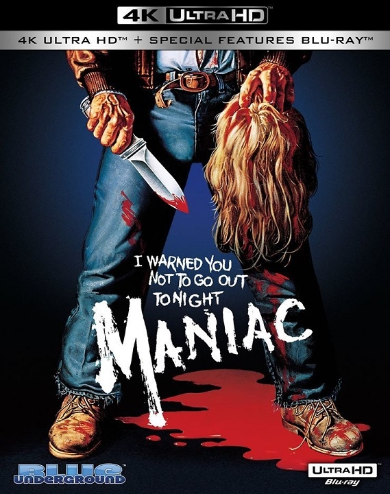 Maniac in 4K Ultra HD Blu-ray at HD MOVIE SOURCE
