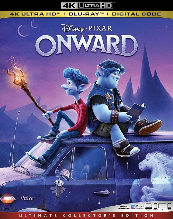 Onward in 4K Ultra HD Blu-ray at HD MOVIE SOURCE