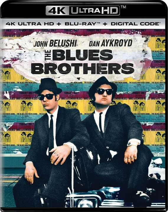 The Blues Brothers (4K Ultra HD Blu-ray)(Pre-order / May 19)