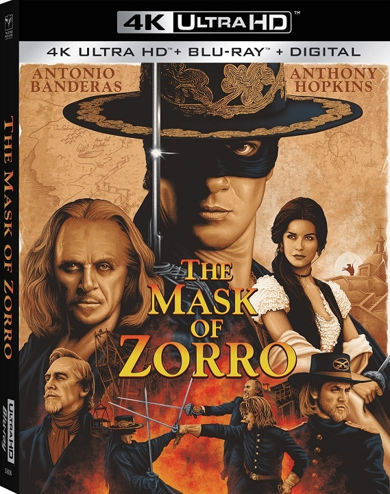 The Mask of Zorro 4K Ultra HD