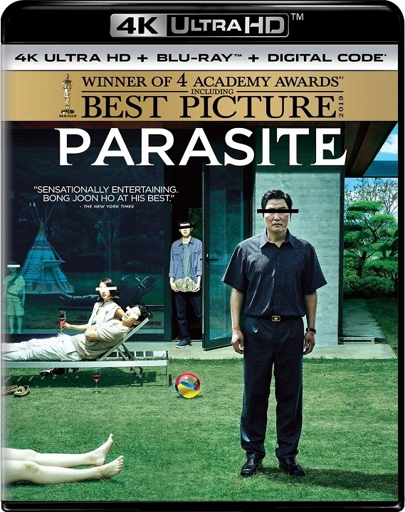 Parasite (4K Ultra HD Blu-ray)