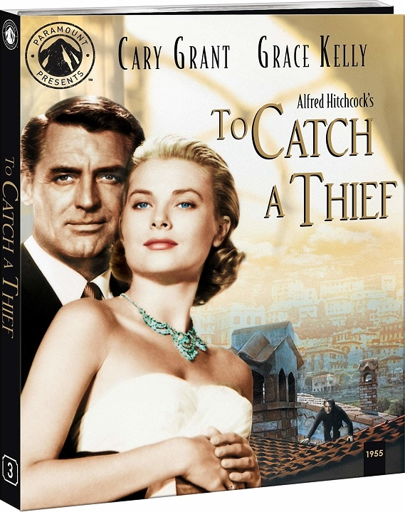 To Catch a Thief (Paramount Presents)(Blu-ray)(Region A)(Pre-order / Apr 28)
