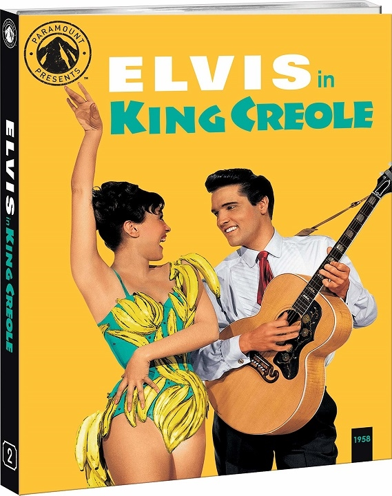 King Creole (Paramount Presents)(Blu-ray)(Region A)(Pre-order / Apr 28)