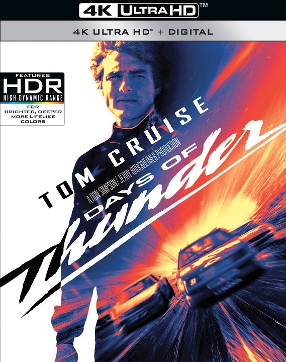 Days of Thunder (4K Ultra HD Blu-ray)(Pre-order / May 19)