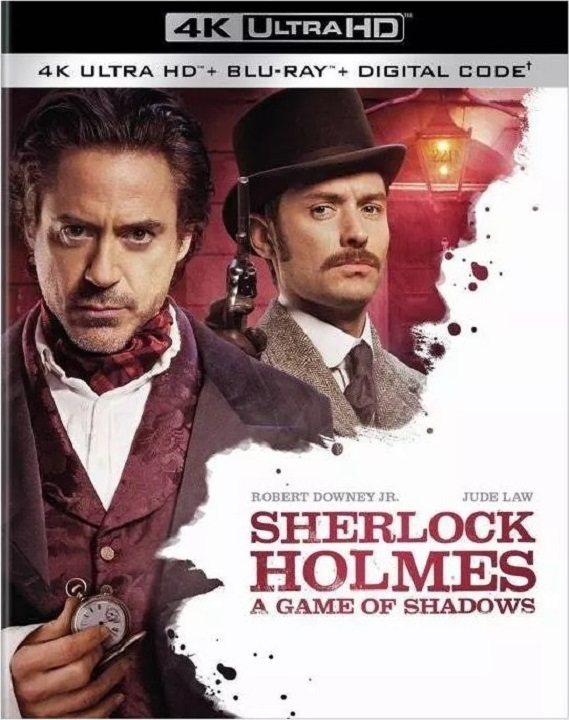 Sherlock Holmes: A Game of Shadows (4K Ultra HD Blu-ray)(Pre-order / TBA)