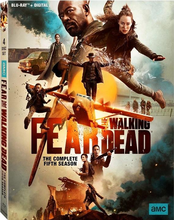 Fear the Walking Dead: The Complete Fifth Season (Blu-ray)(Region A)(Pre-order / May 19)
