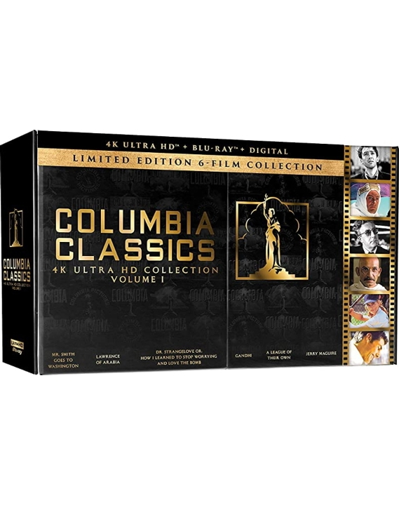 Columbia Classics Collection: Volume 1 (4K Ultra HD Blu-ray)(Pre-order / Jun 16)