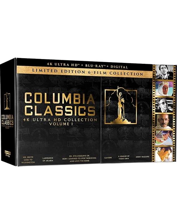 Columbia Classics Collection (4K Ultra HD Blu-ray)(Pre-order / TBA)