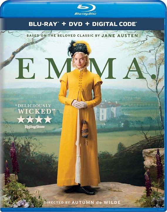 Emma. (2020)(Blu-ray)(Region Free)