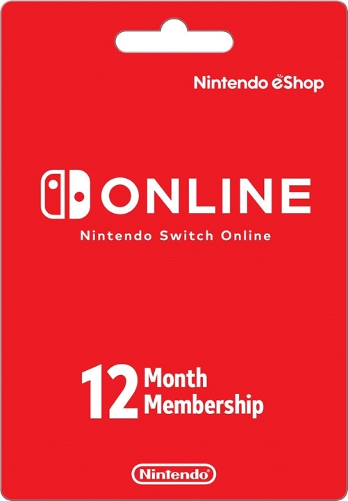 Nintendo Switch 12 Month Membership