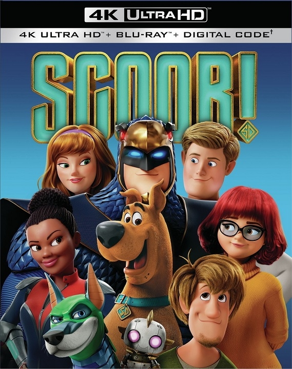 Scoob! (4K Ultra HD Blu-ray)(Pre-order / Jul 21)