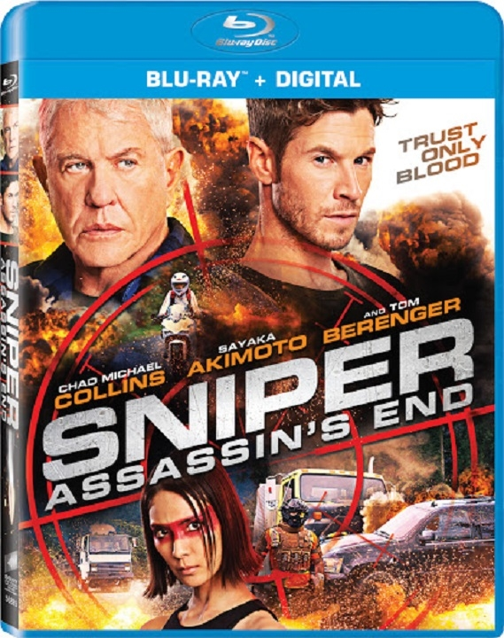 Sniper: Assassin's End (Blu-ray)(Region Free)